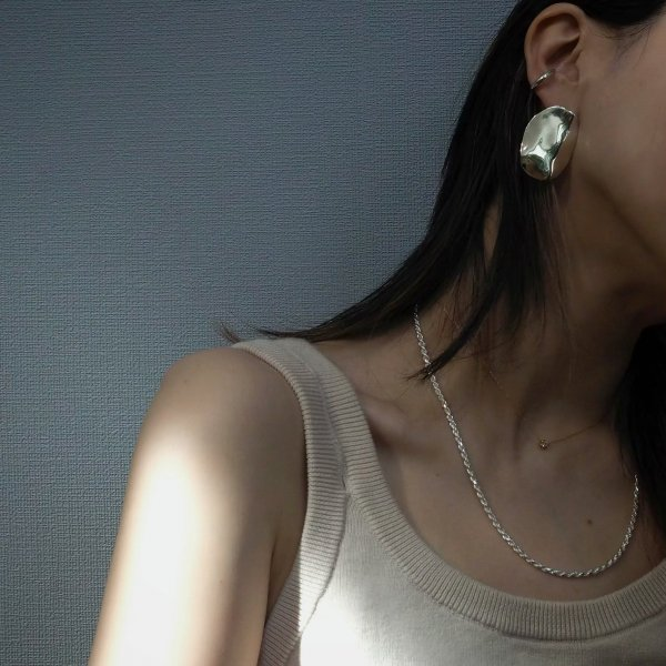 (1 件) 925 银制桨式穿孔耳环(请选择穿孔耳环或耳环颜色 * 金色为加费)