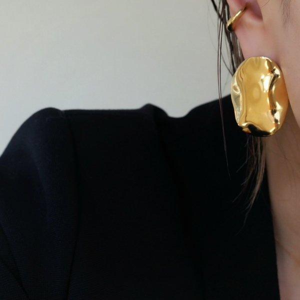 (一对特价) 925银制桨式穿孔耳环(请选择穿孔耳环或耳环颜色*金色为加费)