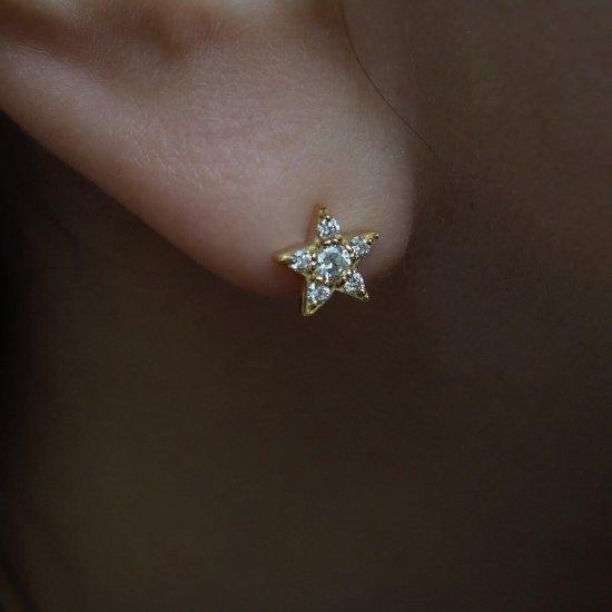 【一对特价】18k星钻耳环预定