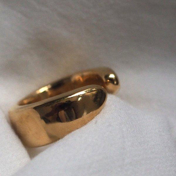 金拥抱戒指