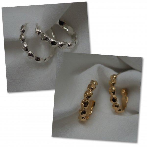 (一对特价)silver925 摇滚耳环(请选择穿孔耳环或耳环颜色 * 金色为加价)