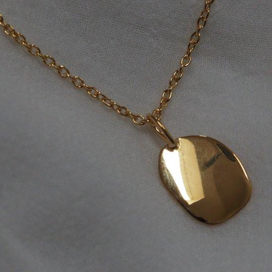 Gold Mood Charm Round Silver 925(金色链长,根据选项另加费用)