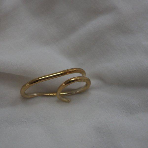金双指戒指