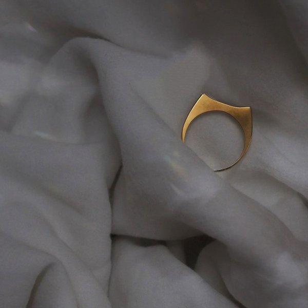 金色 NEKO 戒指