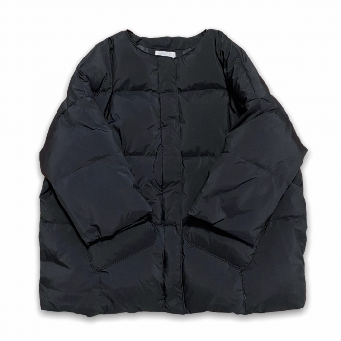 Duck down coat (BLK)