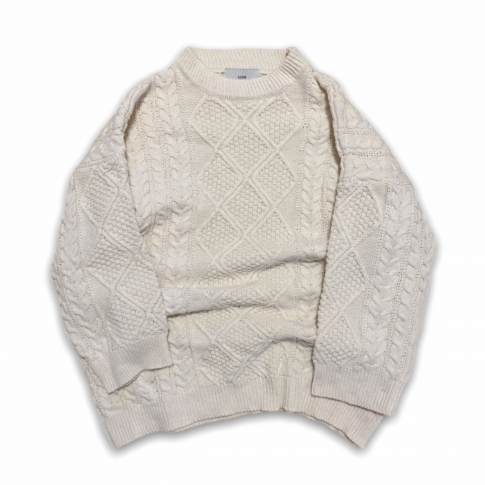 Cable knit (IVORY)