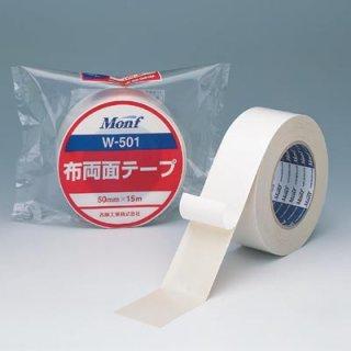 古藤 布両面テープ W-501 0.4mm厚×25mm幅×15m長×60巻