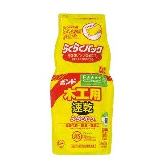 ボンド 木工用速乾らくらくパック 1kg×6袋