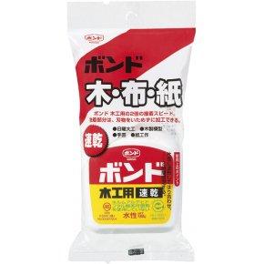 ボンド 木工用速乾 (ハンディパック) 180g×10本