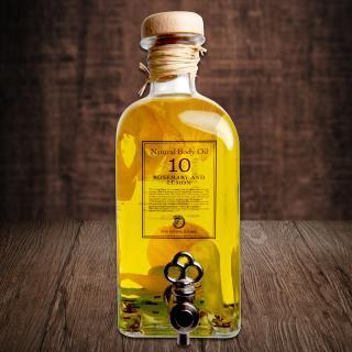 ボディオイル ローズマリー&レモン 500ml