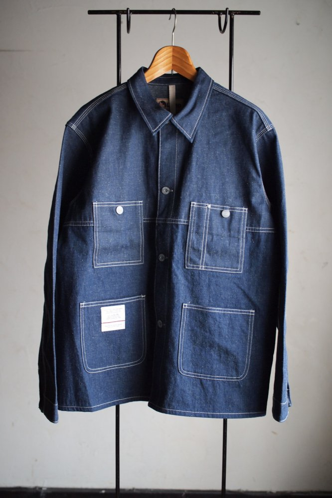 SPLIT MECHANICS JACKET-10OZ JAPANESE DENIM-