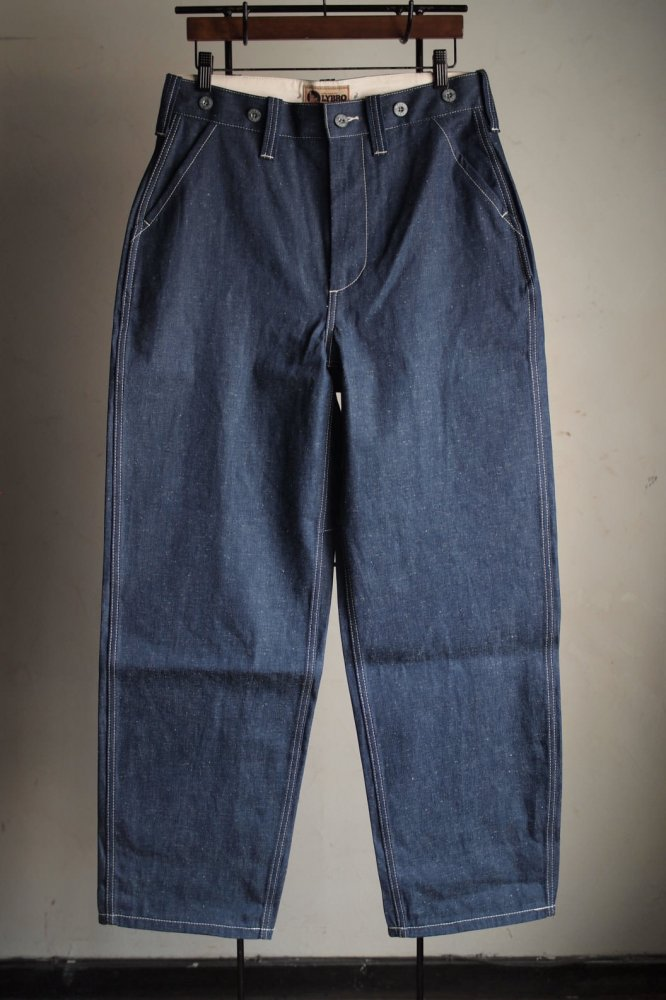 MILITARY PANT 10OZ JAPANESE DENIM