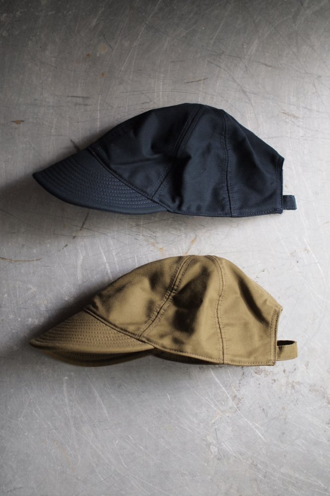 MECHANICS CAP-JAPANESE MOLESKIN-