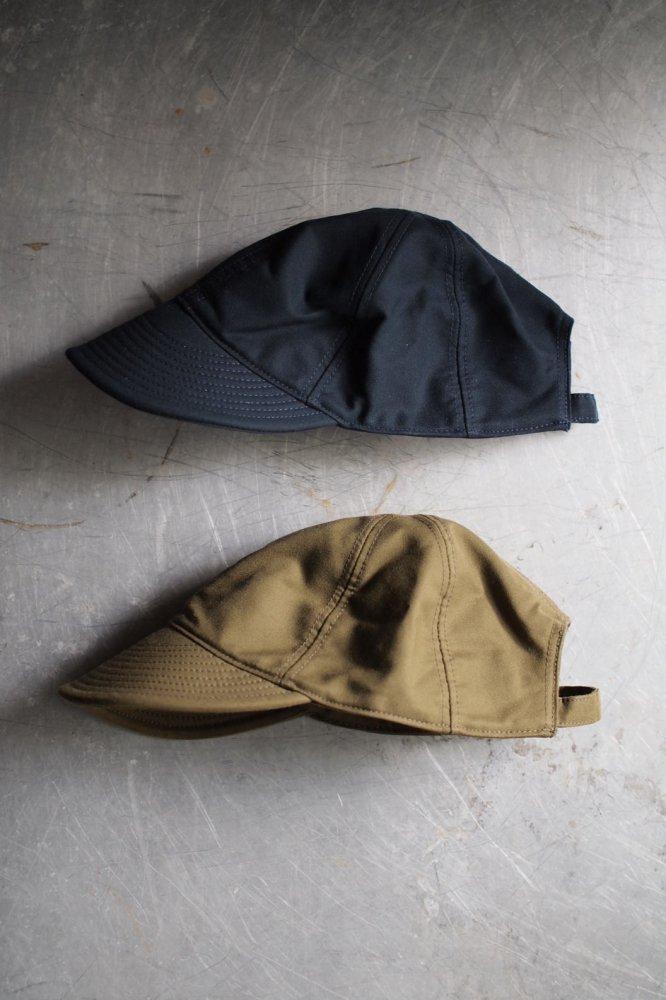 MECHANICS CAP-JAPANESE MOLESKIN-