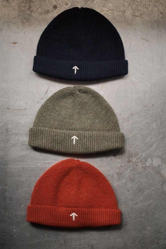 BROAD ARROW EMBROIDERED BEANIE