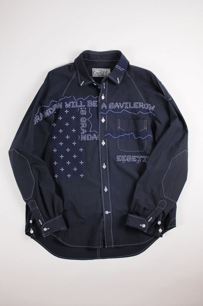 EESETT&Co/PATCHED SHIRT