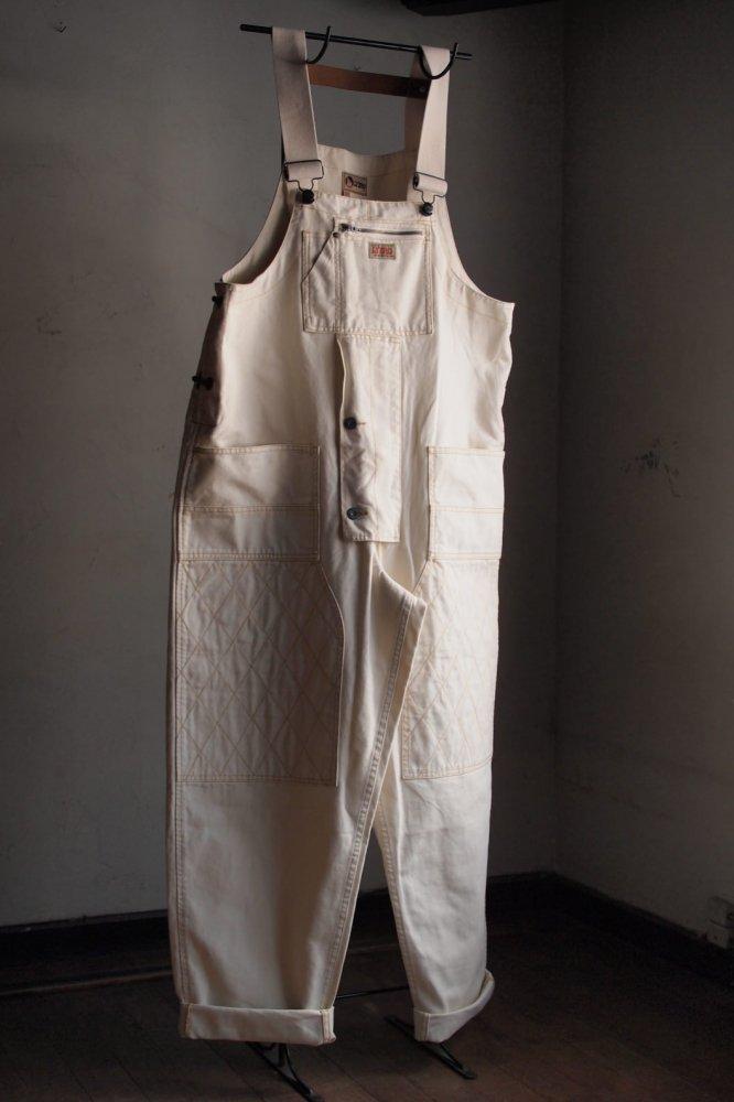 CARPENTER DUNGAREE/Off White