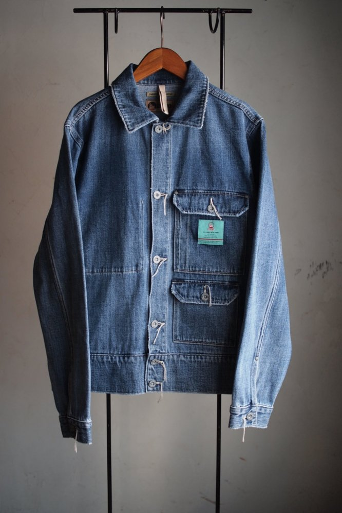 DENIM HIP JACKET