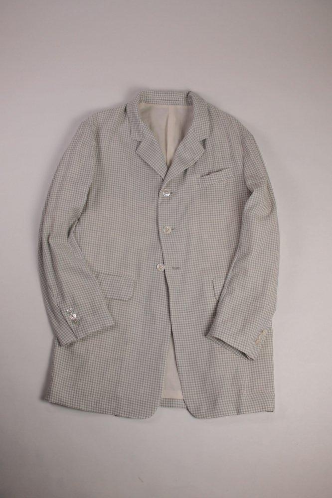 C/Ca Check Long Jacket