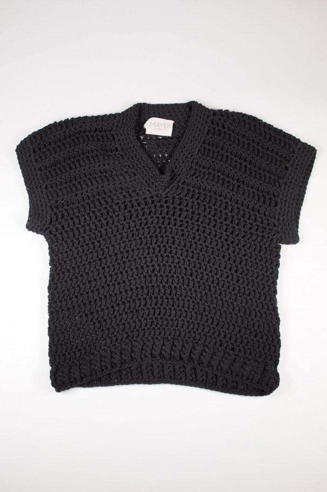 MAYDI/ENFANCE-Vest-BLK