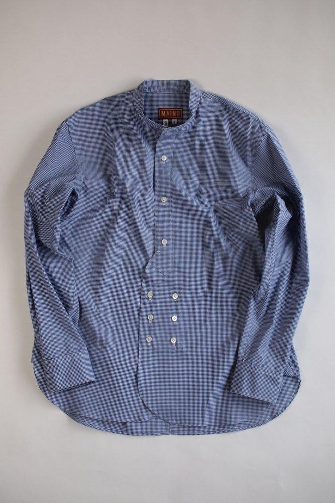 MAINU×peau de l'Ours/Denison stand collar shirts NV