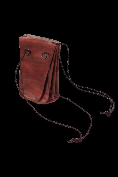 Casper lined round bag W