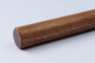 そば打ち道具 麺棒 φ25〜30mm/ウォールナット