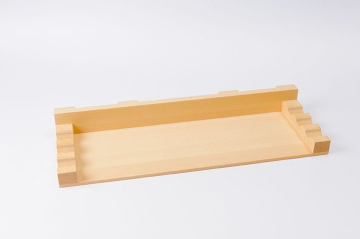 そば打ち道具 のし板用麺棒置き