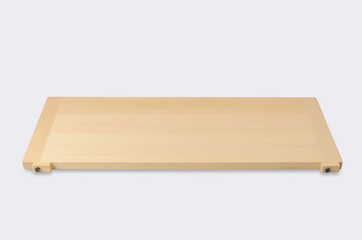 そば打ち道具 麺切り板 ストッパー付