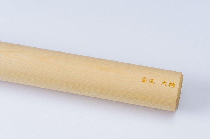 そば打ち道具 麺棒 φ28〜30mm/ヒバ (名入れ付)