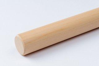 そば打ち道具 麺棒 φ28〜30mm/ヒノキ (名入れ付)