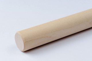 そば打ち道具 麺棒 φ25〜30mm/メープル (名入れ付)