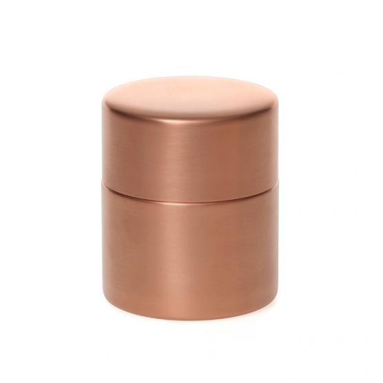 東屋の茶筒 銅 中 メインイメージ
