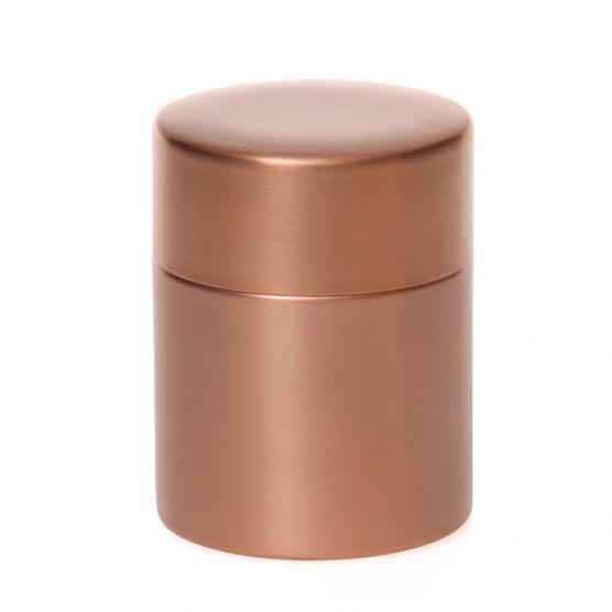 東屋の茶筒 銅 大 メインイメージ
