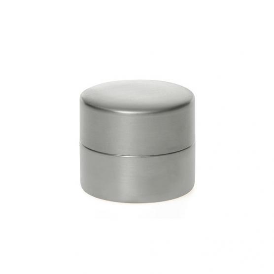 東屋の茶筒 錫メッキ 小 メインイメージ
