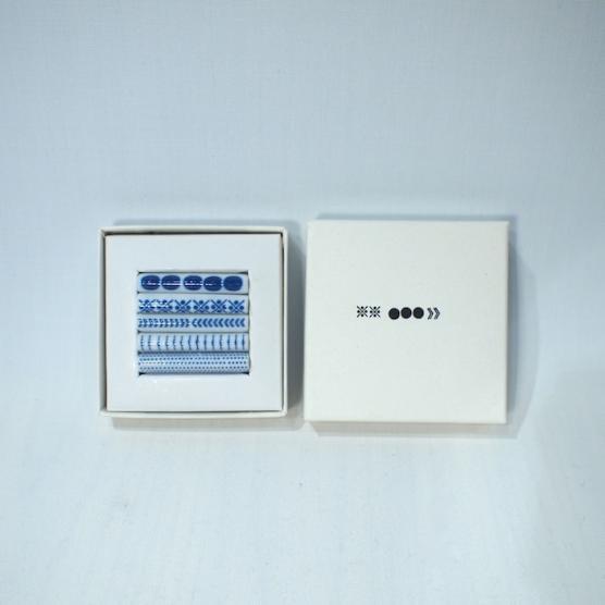 東屋の印判箸置五本セット(箱入り) メインイメージ