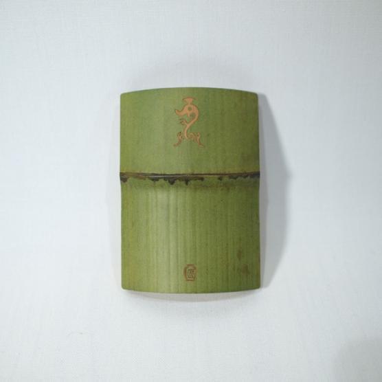 孟宗竹の名刺入れ 緑 竜 メインイメージ