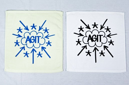 AGIT「Eric Haze For Agit Special Edition」2 PIECES SET HAND TOWELS