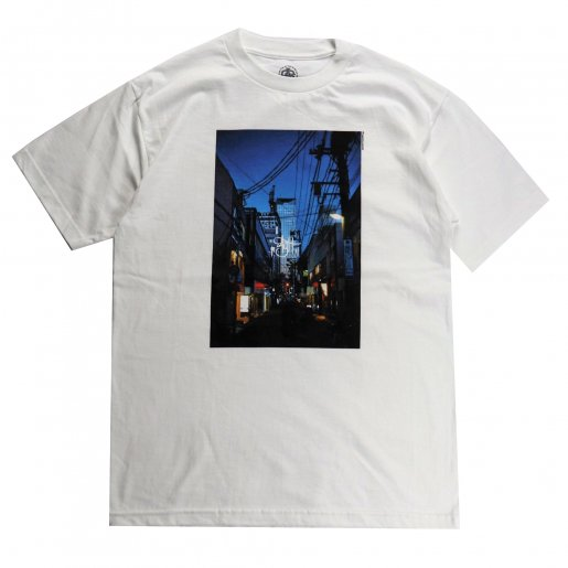 AGIT City Photo S/S T-Shirt(White)