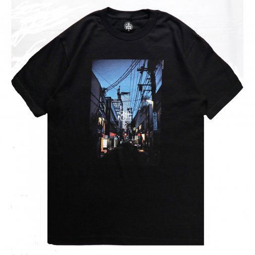 AGIT City Photo S/S T-Shirt(Black)