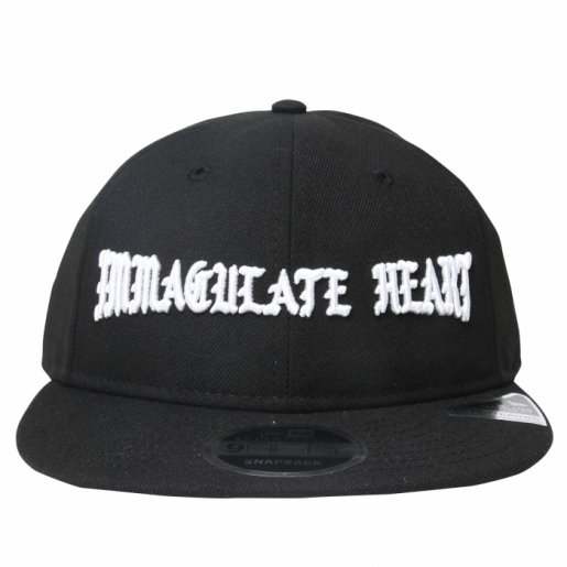 BORNXRAISED  IMMACULATE HEART STRAP BACK(Black)