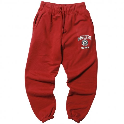 <img class='new_mark_img1' src='//img.shop-pro.jp/img/new/icons34.gif' style='border:none;display:inline;margin:0px;padding:0px;width:auto;' />BORN X RAISED SCHOOL UNIFORM SWEATS(Burgundy)