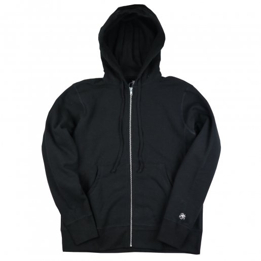 AGIT High Grade Sweat Collection Zip Hoody(Black×Black)