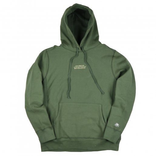 AGIT High Grade Sweat Collection Hoody(Olive×Cream)