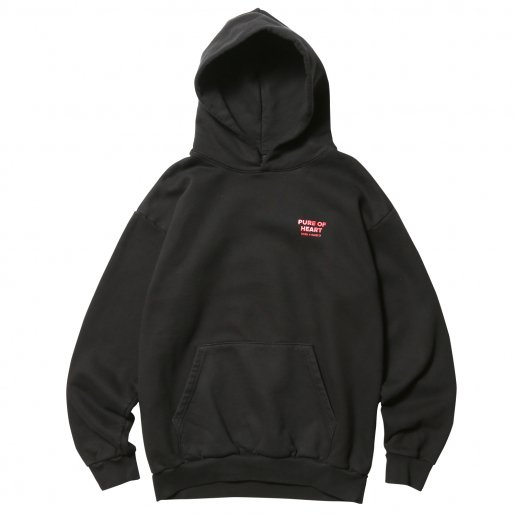 BORN X RAISED PURE OF HEART HOODY(Black)