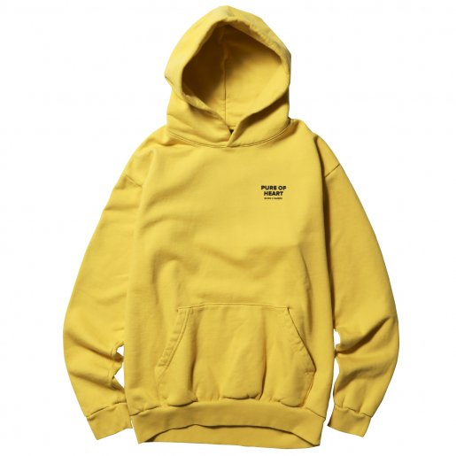 BORN X RAISED PURE OF HEART HOODY(Musturd Yellow)