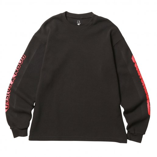 BORN X RAISED WAFFLE THERMAL(Black)