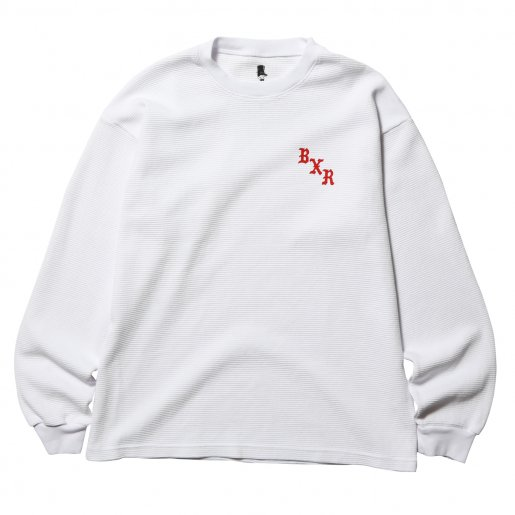 BORN X RAISED WAFFLE THERMAL(White)
