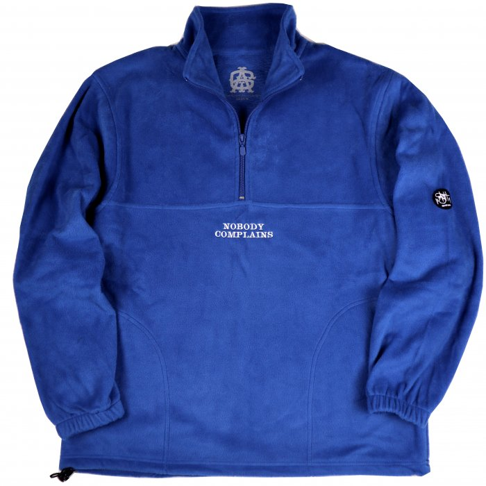 AGIT NBC Fleece P/O(Royal×White)