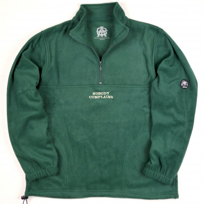 AGIT NBC Fleece P/O(Green×Cream)